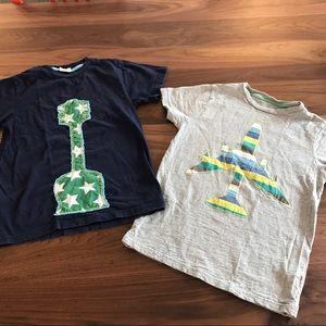 Size 9-10 Mini Boden Tshirt set